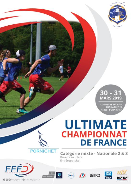 Championnat de France Mixte Nationale 2 &  3